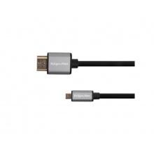 Kabel KRUGER & MATZ KM1238 Basic HDMI / micro HDMI 1,8m