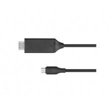 Kabel KRUGER & MATZ KM1249 HDMI / USB-C 2m