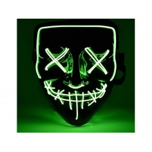 Maska svítící 4L zelená