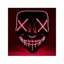 Maska svítící 4L červená