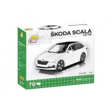 Stavebnice COBI 24583 Škoda Scala 1.5 TSI, 1:35, 70 k