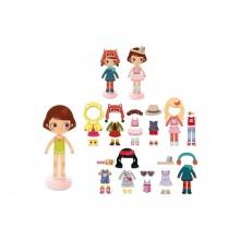 Dětské magnetky VILAC Chloe dřevěné