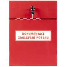 Box na dokumentaci - box na dokumentaci zdolávání požáru