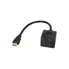 Redukce HDMI - 2x HDMI CABLETECH KOM0950 0,2m