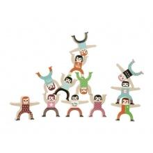 Dětské postavičky VILAC Akrobati dřevěné