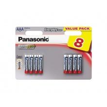 Baterie AAA (R03) alkalická PANASONIC Evolta 8BP