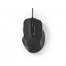 Myš drátová NEDIS MSWD400BK