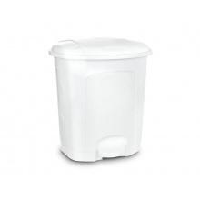 Koš odpadkový ORION 11,5l s pedálem bílý