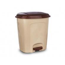 Koš odpadkový ORION 11,5l s pedálem béžovohnědý