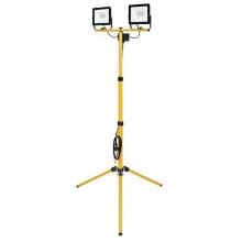 STREND PRO Worklight BL2-E2 dvojitý SMD LED Reflektor 2x50W, 2x4000 lm,se stojanem tripod