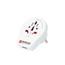 Adaptér cestovní SKROSS PA30 USB pro cizince v ČR