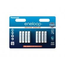 Baterie AAA (R03) nabíjecí 1,2V/750mAh Eneloop PANASONIC 8ks