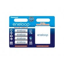 Baterie AA (R6) nabíjecí 1.2V/1900mAh Eneloop PANASONIC 4ks + box