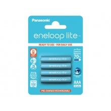 Baterie AAA (R03) nabíjecí 1,2V/550mAh Eneloop PANASONIC LITE 4ks