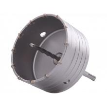 vrták SDS PLUS do zdi korunkový, průměr 125mm, délka stopky 100mm M22, EXTOL PREMIUM