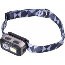 EXTOL LIGHT čelovka 500lm, Dual Power - Li-ion nebo AAA, USB nabíjení, s IR čidlem