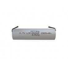 Baterie nabíjecí Li-Ion 18650 3,7V/2900mAh 3C MOTOMA s páskovými vývody