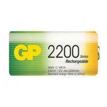 Baterie C (R14) nabíjecí GP NiMH 2200mAh